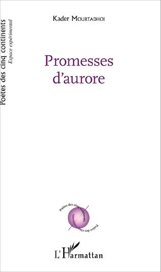 Couverture Promesses d'aurore