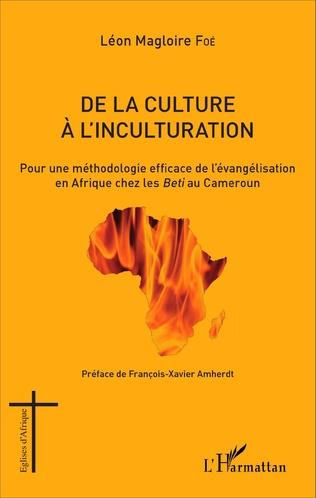 Couverture De la culture à l'inculturation
