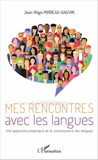 Couverture Mes rencontres avec les langues