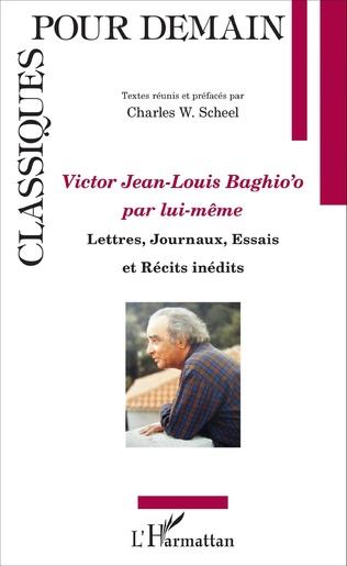 Couverture Victor Jean Louis Baghio'o par lui-même