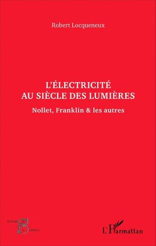 Couverture L'électricité au siècle des Lumières