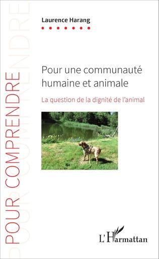 Couverture Pour une communauté humaine et animale