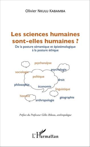 Couverture Les sciences humaines sont-elles humaines ?