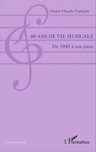 Couverture 60 ans de vie musicale