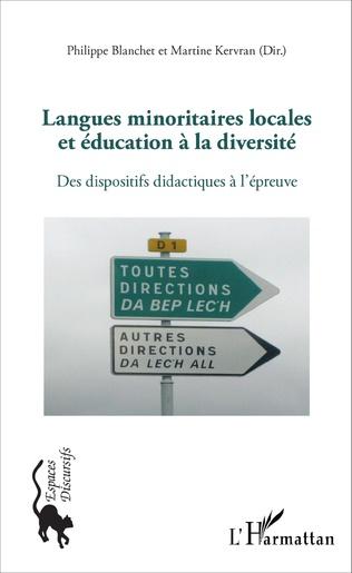 Couverture Langues minoritaires locales et éducation à la diversité