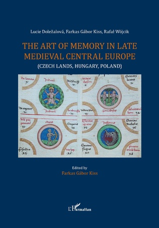 Couverture The art of memory in late medieval central Europe