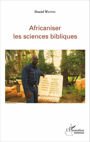 Couverture Africaniser les sciences bibliques