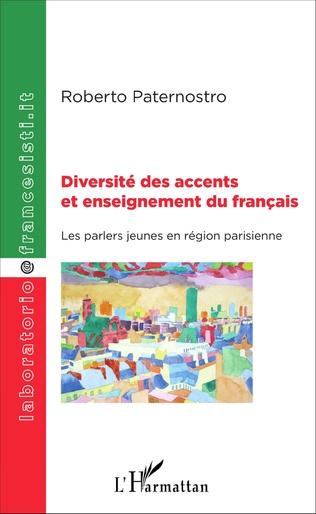 Couverture Diversité des accents et enseignement du français