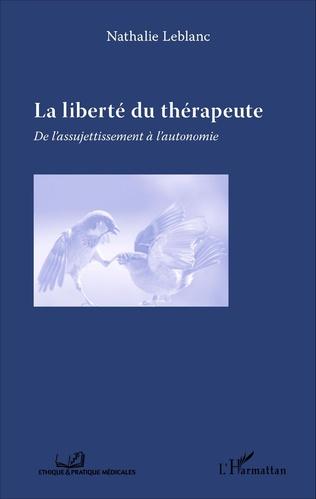 Couverture La liberté du thérapeute