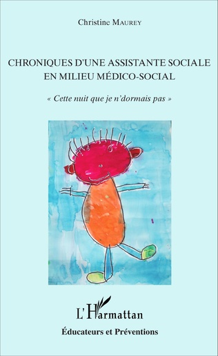 Couverture Chroniques d'une assistante sociale en milieu médico-social