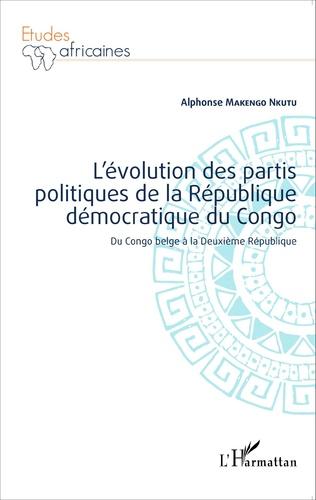 Couverture L'évolution des partis politiques de la république démocratique du Congo
