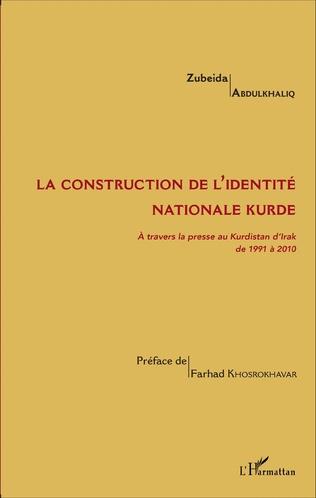 Couverture La construction de l'identité nationale kurde