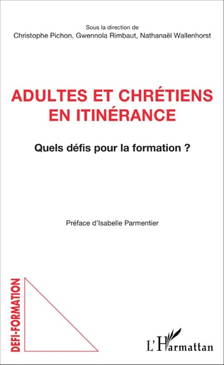 Couverture Adultes et chrétiens en itinérance