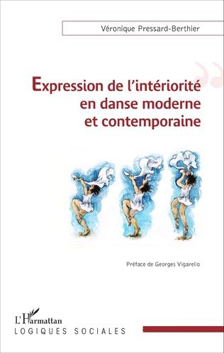 Couverture Expression de l'intériorité en danse moderne et contemporaine