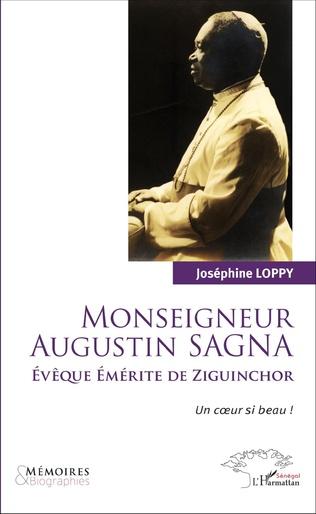 Couverture Monseigneur Augustin Sagna Evêque émérite de Ziguinchor