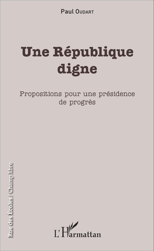 Couverture Une République digne