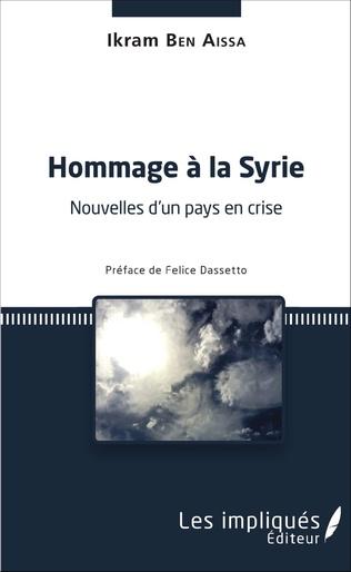 Couverture Hommage à la Syrie