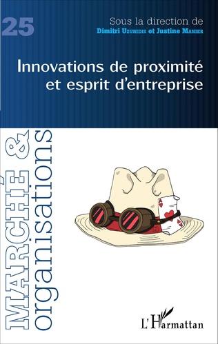 Couverture Innovations de proximité et esprit d'entreprise