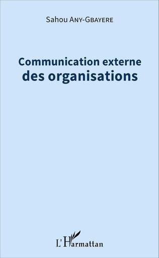 Couverture Communication externe des organisations