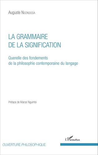 Couverture La Grammaire de la signification