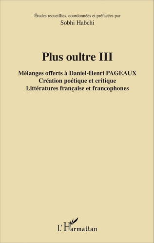 Couverture Plus oultre III