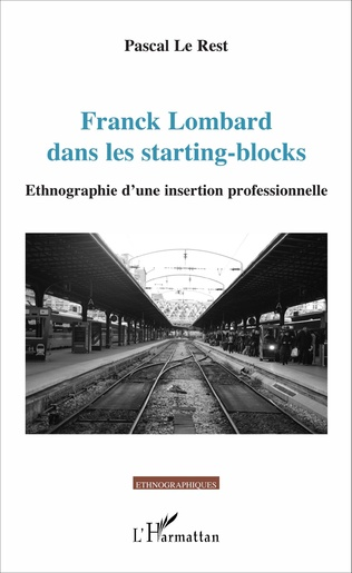 Couverture Franck Lombard dans les starting-blocks