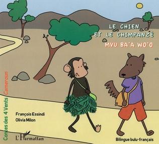 Couverture Le Chien et le Chimpanzé