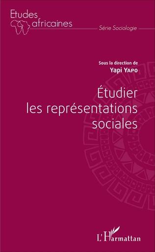 Couverture Étudier les représentations sociales