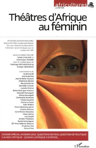 Couverture Théâtres d'Afrique au féminin