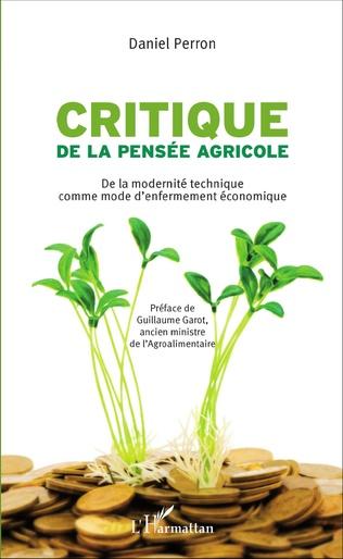Couverture Critique de la pensée agricole