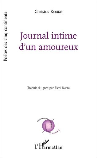 Couverture Journal intime d'un amoureux