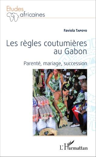 Couverture Les règles coutumières au Gabon