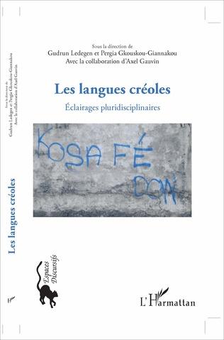 Couverture Les langues créoles