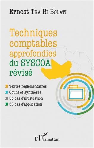 Couverture Techniques comptables approfondies du SYSCOA révisé