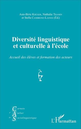 Couverture Diversité linguistique et culturelle à l'école