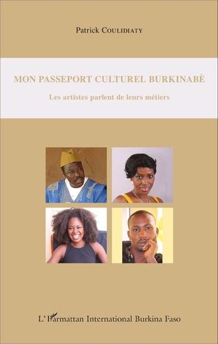 Couverture Mon passeport culturel burkinabè