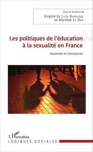 Couverture Les politiques de l'éducation à la sexualité en France