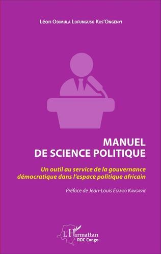 Couverture Manuel de science politique