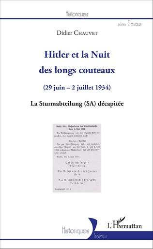 Couverture Hitler et la Nuit des longs couteaux