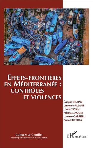 Couverture Effets-frontières en Méditerranée : contrôles et violences