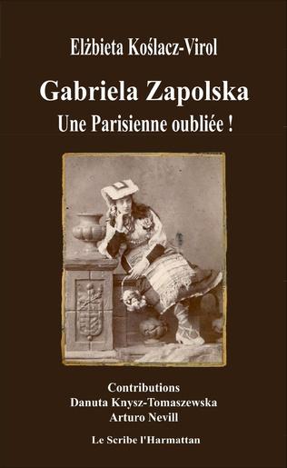 Couverture Gabriela Zapolska