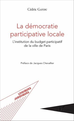 Couverture La démocratie participative locale