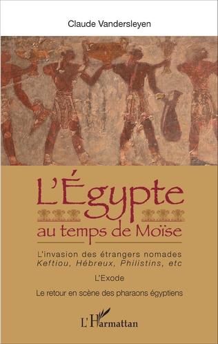 Couverture L'Egypte au temps de Moïse