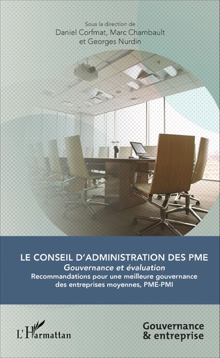 Couverture Le Conseil d'administration des PME
