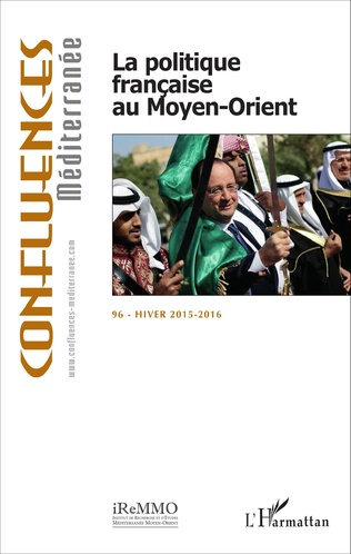 Couverture La politique française au Moyen-Orient