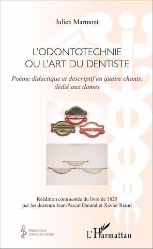 Couverture L'Odontotechnie ou l'art du dentiste