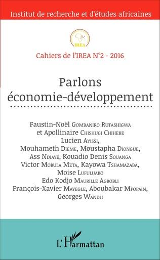 Couverture Parlons économie-développement