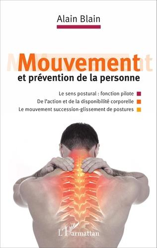 Couverture Mouvement et prévention de la personne