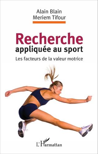 Couverture Recherche appliquée au sport
