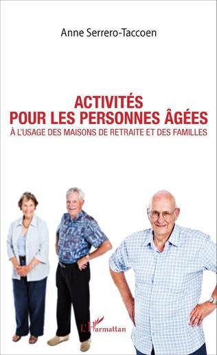 Couverture Activités pour les personnes âgées